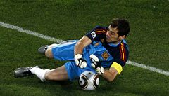 Casillas: Čeká nás nejdůležitější zápas španělské historie