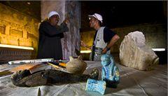 V egyptském Údolí králů  odkryli tunel k hrobce faraona Sethiho I.