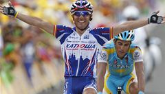 Kreuziger je již desátý, 12. etapu Tour de France ovládl Španěl Rodriguez