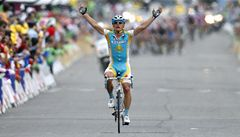 Sobotní etapu vyhrál Vinokurov, Kreuziger ztratil třináct vteřin