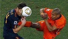 Blatter zkritizoval Španěly i Nizozemce a zastal se chybujícího Webba