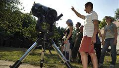 Pozorování oblohy s astronomem. I to nabídne Akademie věd
