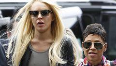 Lohanová má zase problém. Je podezřelá z krádeže šperku za 40 tisíc