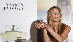 Jennifer Anistonová uvedla na trh svou první vůni. Nese její jméno