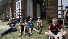 V táboře 'Rudý výsadek' se porvaly děti. Jedno přišlo o slezinu