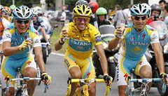 Podle vědců mohl Contador maskovat doping krevní transfúzí