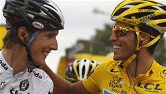 Možný vítěz Tour Andy Schleck se Contadora zastal. Je to šílené, tvrdí