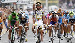 Cavendish si v desáté etapě Gira dospurtoval pro první triumf