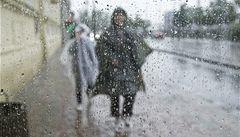 Vydatné deště zasáhnou většinu ČR, zvednou se hladiny řek na Moravě