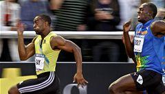 Sprinterský král Usain Bolt padl, ve Švédsku triumfoval Tyson Gay