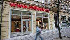 mBank dopoledne zkolabovalo internetové bankovnictví a webové stránky