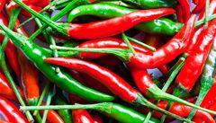 Pálivé papričky příznivě ovlivňují vysoký krevní tlak