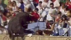 VIDEO: Rozzuřený býk vtrhl do davu diváků, 40 jich zranil