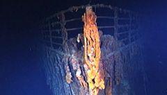 Vědci dokončili mapu vraku Titaniku