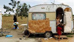 Při útoku na romský tábor ve Lvově jeden mrtvý a čtyři zranění