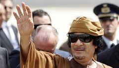 WikiLeaks: Kaddáfí se neobejde bez 'smyslné blondýny' a trpí fobiemi