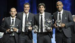 Vyhlášení nejlepších hráčů Evropy ovládli ti z Interu, vítězem je Milito
