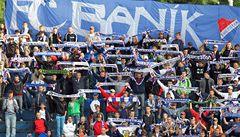 Fandové ostravského Baníku dorazili do Prahy na zápas se Slavií