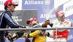 Hamilton je v čele, ve VC Belgie triumfoval před Webberem a Kubicou
