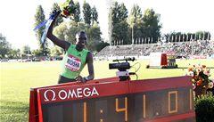 Týden starý rekord na 800 metrů padl, opět ho překonal Rudisha