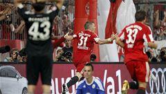 Bayern díky brance v nastavení porazil silný Wolfsburg