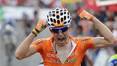 Čtvrtou etapu Vuelty vyhrál Antón, Kreuziger si pohoršil