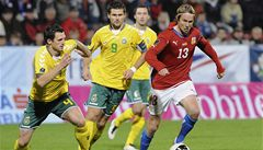 Další blamáž reprezentace: Češi po matném výkonu podlehli Litvě