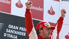 Itálie bouří. Domácí GP v Monze ovládl Fernando Alonso na ferrari