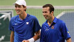 Berdych i Štěpánek na Davis Cup odletí