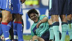 VIDEO: Barcelonští fanoušci zuří, Ujfaluši ostrým faulem zranil Messiho