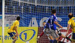 Plzeň v trháku, druhá Olomouc klopýtla v Teplicích a prohrála 0:1