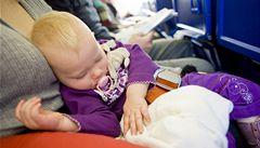 Deník matky, díl druhý: S dítětem v letadle aneb 'Co s ním?'