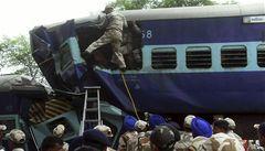 Vlak v Indii narazil ve velké rychlosti do stáda slonů, sedm jich zabil