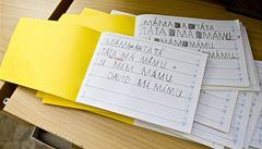 Nové psací písmo otestují i druháci