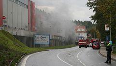 V karlovarské aréně hořelo. Šampionát basketbalistek ale není ohrožen