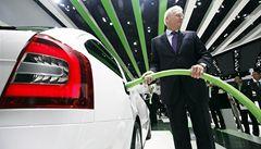 Silnice brázdí první elektromobily Škoda. Prodej začne v roce 2014
