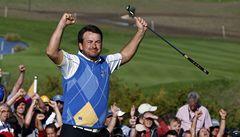 Drama až do konce: evropští golfisté vyhráli Ryder Cup na USA o jeden bod