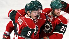 Nový ročník NHL byl rozehrán: Minnesota i díky Havlátovi přehrála Carolina