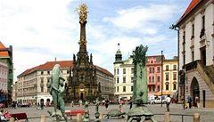 Vandal poškodil v Olomouci památku UNESCO