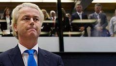 Nizozemský populista Wilders obvinil ze své prohry v eurovolbách Unii