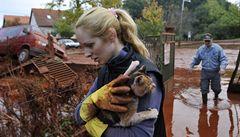 Katastrofa v Maďarsku: Odstraňování škod potrvá nejméně rok