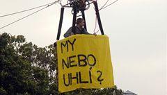 Limity těžby uhlí tato vláda nezruší, ujistil John Litvínov