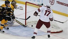 Hokejová show v Praze pro Phoenix, Vrbata dal Bostonu dva góly