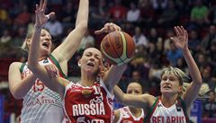 Prohra s běloruskými basketbalistkami vyvolala v Rusku šok