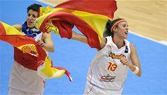 Basketbalistky Španělska získaly na MS bronzové medaile