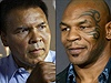 Muhammad Ali a Mike Tyson.