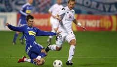 Olomouc je opět druhá, neškodné Slovácko porazila 2:0