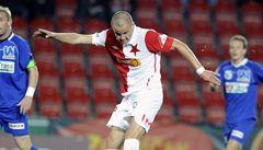 Slavia se dál trápí, nedokázala porazit ani oslabeného nováčka