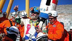 Brad Pitt chce zfilmovat drama chilských horníků. Ti by hráli sami sebe