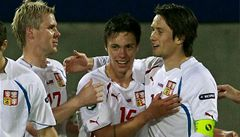 Čeští fotbalisté porazili Lichtenštejnsko 2:0 a ve skupině jsou druzí